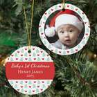 First Christmas Photo Ornament