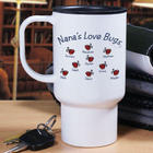 Personalized Love Bugs Travel Mug