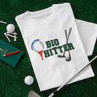 Big Hitter� Adult Golf T-Shirt