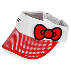Red Hello Kitty Bow Tennis Visor