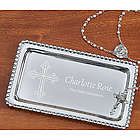 First Communion Personalized Jewelry Tray