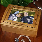Shamrock Blessing Personalized Photo Box