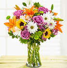 Cheerful Blooms Double Bouquet