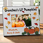 Personalized Pumpkin Patch Picture Frame