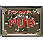 Personalized Neighborhood Pub Sign