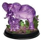 Mystical Enchanted Lighted Elephants Figurine