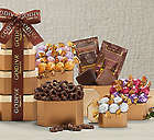 Godiva Milk and Dark Chocolate Gift Tower