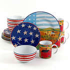 America The Beautiful Dinnerware Set