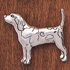 Handcrafted Beagle Pin