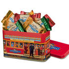 Ghirardelli Cable Car Gift Tin with Squares Chocolates