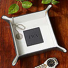 Monogram Black Valet Tray