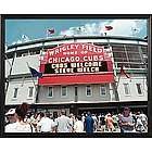 Personalized MLB Scoreboard Chicago Cubs 16x20 Canvas
