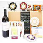 Wine, Cheese and Chocolate Ambiance Gift Box