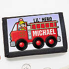 Junior Firefighter Personalized Wallet