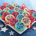36 American Frosted Cutout Cookies