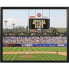 Personalized MLB Scoreboard Los Angeles Dodgers 16x20 Canvas