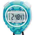 Pro Survivor Stopwatch with Aqua Case