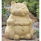 Large Meditating Cat