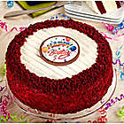 Junior's� Happy Birthday Red Velvet Cheesecake