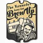 "Brew Up! Personalized 15.5"" Beer Sign"