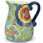 Colorful Floral Creamer