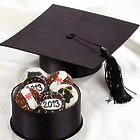 Graduation Cap 6 Dipped Oreo Cookies Gift Box