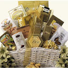 Festive New Year's Wishes Gourmet Gift Basket