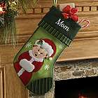 Personalized Mrs. Claus Christmas Stocking