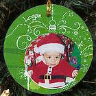 Personalized Ceramic Photo Ornament