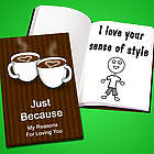 Personalized Why I Love You Book