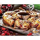 Wisconsin Christmas Cherry Cranberry Coffee Cake