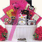 Sweet & Trendy Valentine's Day Chocolate & Sweets Gift Basket