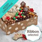 Christmas Chocolate Bliss Box with Merry Christmas Ribbon