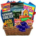 Deluxe Feel Better Soon Books and Snacks Gift Basket