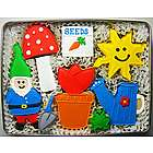 Gardening Delight Sugar Cookie Tin