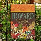 Personalized Fall Garden Flag