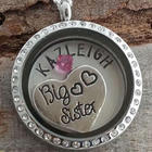 Big Sister Birthstone Necklace