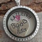 Big Sister Birthstone Necklace