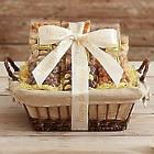 Snack Attack Gift Basket with Personalized Ribbon