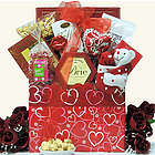 Hugs & Kisses Valentine's Day Gourmet Gift Basket