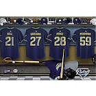San Diego Padres 16x24 Personalized Locker Room Canvas