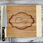 Elegant Personalized Cutting Board