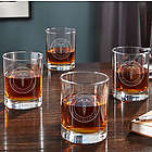 4 Medical Arts Personalized Whiskey Glasses