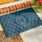 Single Initial Door Mat
