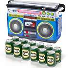 Boom Box Beverage Cooler