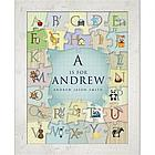 Personalized Alphabet Puzzle Framed Poster
