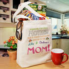 A Special Mom Personalized Canvas Tote Bag