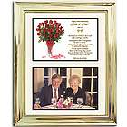 50th Wedding Anniversary Personalized Framed Poem