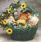 Sunflower Treats Gift Basket