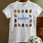 Colorful Eggs Easter Youth T-Shirt